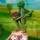 Кузнечик Кузя из кукольного спектакля Горошинка на полянке чудес